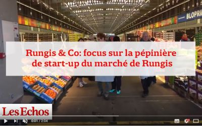 [VIDEO] Les Echos à la rencontre des start-ups de Rungis&Co