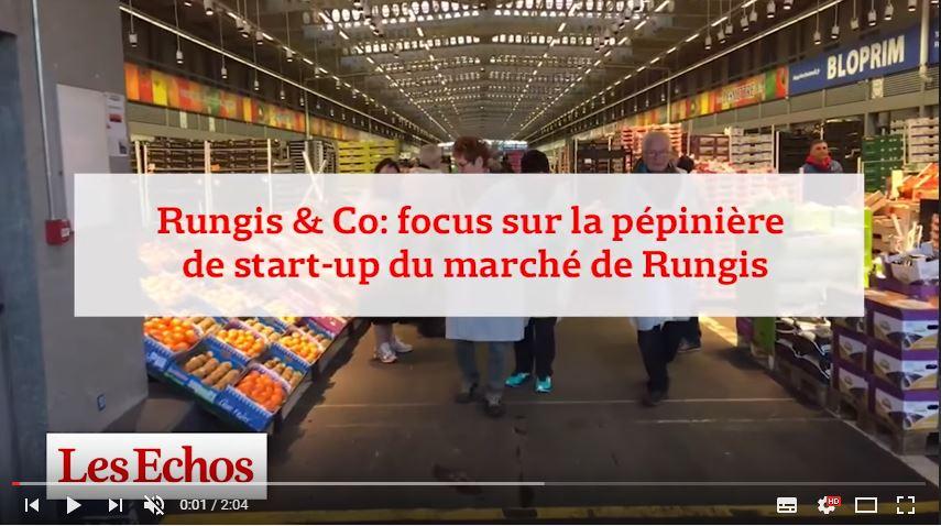 [VIDEO] Les Echos à la rencontre des start-ups de Rungis&Co